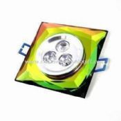 LED Ceiling Light with 5,700 to 6,500K Pure White Color Temperatures and 3W Power Consumption images