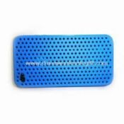 Silicone Case for iPhone 4 Comes in Various Colors with Air-vent Design images