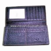 Elegant Design Men  Leather Wallet in Various Colors and Sizes images