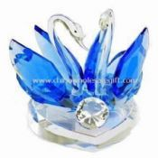 Crystal Swan Model for Valentine Gifts and Souvenir Gift images