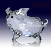 High quality K9 optical crystal Pig images