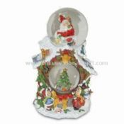Xmas Snow Globe Made of Polyresin images