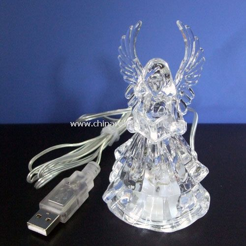 USB 7 Color Crystal Angel