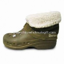 EVA Winter Boots with Fur Lining and EVA Sole images