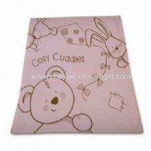 Printed Baby Blanket Made of Polyester Coral Fleece images