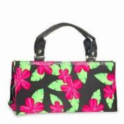 Beach Bag Made of Flower Printed T/C with PVC Backing images