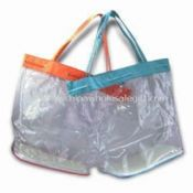 Beach Tote Bag Made of 420D Polyester with PVC Backing images