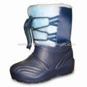Men Winter and Rain Boots with Slip-resistant and Non-marking Soles images