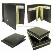 PU or genuine leather Money Clip images