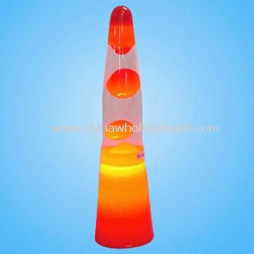 13 inch Small Plastic Lava Lamp with Color Base