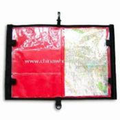 Waterproof Map Holder Made of Tarpaulin and Transparent Plastic PVC images