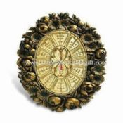 60 x 42cm Wall Clock, Made of Polyresin images