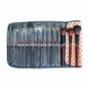 Professional Cosmetic Brush Set with case images