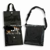 Professional Cosmetic Set with Eye-shadow Smudge and Blending Brush images
