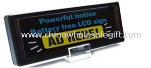 Solar LCD Photo Frame
