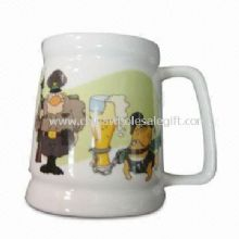 Ceramic Beer Mug with 16 Ounce Capacity images