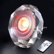 Diamond Color Changing LED Mood Light, 16.7 Million colors, K9 Crystal, 12W, with remote control images