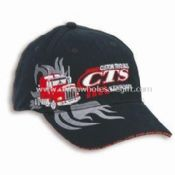 100% Cotton Mens Sports Cap with Embroidered Logo and Heavyweight Brushed Twill images