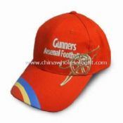 Football Cap with Adjustable Metal Buckle at Back and Customized Designs Accepted images