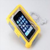 Plastic Case with Ear Phone Suitable for iPhone and BlackBerry images