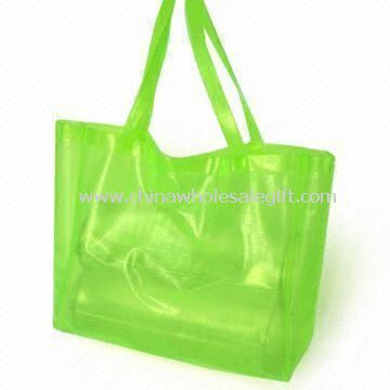 Waterproof PVC Beach Bag Available in Various Colors