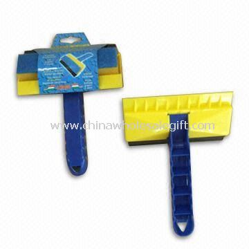 3-in-1 Magic Ice Scraper Made of PP Sponge Scouring Pad and Rubber