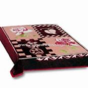Blanket Made of 100% Polyester and Acrylic Easy to Wash images