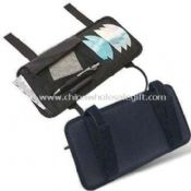 Car/CD Organizer with 2 Pen Holder Loops Mesh and 6 Slash Pockets Made of 70D PVC images