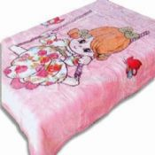 Printed Baby Blankets Made of 100% Acrylic or Polyester images