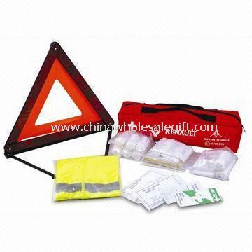 Car Safety Kit Include First Aid Kit with DIN13164 Standards