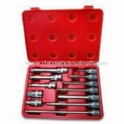 12pcs Automobile Maintenance Special Socket Bit Set, Auto Tool Kit, Car Tool Set, Automotive Tool images
