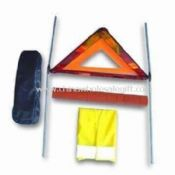 Car Accident Kits with Warning Triangle and Safety Vest images