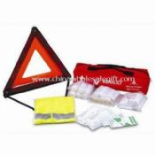 Car Safety Kit Include First Aid Kit with DIN13164 Standards images