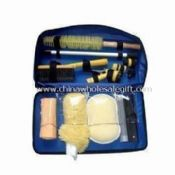 Car Washing Tool Kit Includes 8-piece Sponge, Woolen Gloves and Window Eraser made of PP images