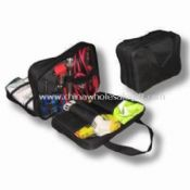 Multi-functional Auto Safety Kit with Double Layer, Contains First Aid Accessories/Auto Safety Tools images