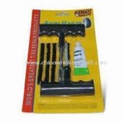 Repair Tool Set Includes Hand Rasp and Patch for Cover Tire images