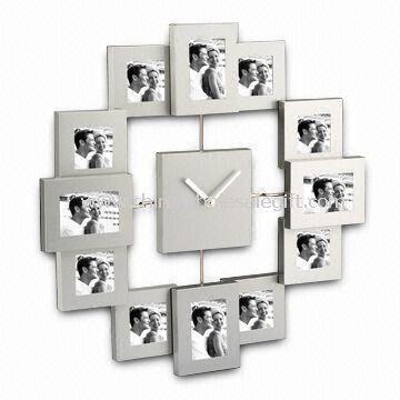 Aluminium Photo Frames with Clock