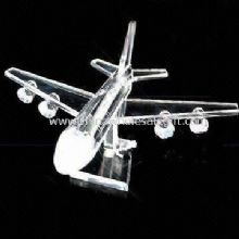 Crystal Airplane Suitable for Home Furnishings and Corporate Gifts images
