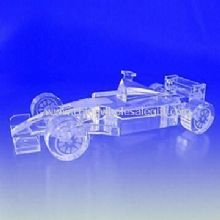 K9 Crystal Racing Car Model Suitable for Office Decoration images