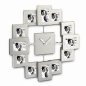 Aluminium Photo Frames with Clock images