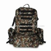 Camping Bag with Aluminum Frame images