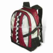 Sports/Camping/Outdoor Backpack with Inner CD Pockets Made of Nylon Jacquard images