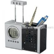 pen holder calendar with light and radio images