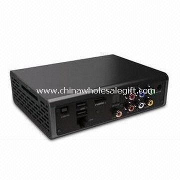 Rede Full HD Media Player suporta 2.5 polegadas interno disco rígido/Online Streaming/BT Download