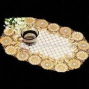 Placemat Made of PVC Available in Gold and Silver Colors images