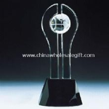 Trophy with Crystal Globe images