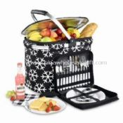 Picnic Cooler Basket with 30L Capacity For Party Events images
