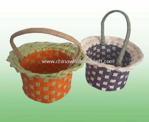 Straw handmade eco-friendly Gift Basket