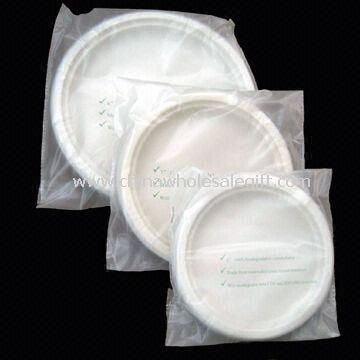 Biodegradable Dinner Plates Made of Corn Starch