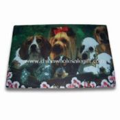 Doggy Pattern Floor Mat Made of Non-woven and Rubber images